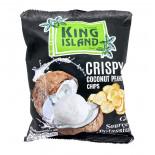 Чипсы из сердцевины кокоса King Island 40г