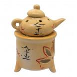 Аромалампа Чайник на камине керамическая