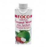 Вода кокосовая с соком Личи 330мл
