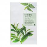 Тканевая маска для лица с экстрактом зелёного чая I Joyful Time Essence Mask Green Tea Mizon 23г