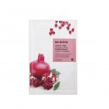 Тканевая маска для лица с экстрактом гранатового сока I Joyful Time Essence Mask Pomegranate Mizon 23г