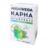 """Мыло аюрведическое для лица и тела """"Капха"""" Amsarveda 100г"""