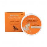 Гидрогелевые патчи с конским жиром и золотом | Horse Oil & Gold Hydrogel Eye Patch Farm Stay 60шт