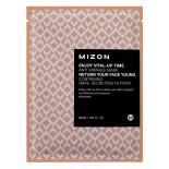 Маска листовая для лица антивозрастная I Enjoy Vital Up Time Anti Wrinkle Mask Mizon 30мл