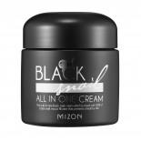 Крем с экстрактом черной улитки I Black Snail All In One Cream Mizon 75мл