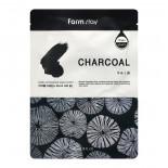 Тканевая маска для лица с древесным углем (Visible difference mask sheet charcoal) Farm Stay | Фарм Стэй 23мл