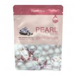 Осветляющая маска для лица с экстрактом жемчуга  | Visible Difference Mask Sheet Pearl Farm Stay 23мл