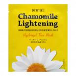Гидрогелевая маска экстрактом ромашки   Chamomile Lightening Hydrogel Face Mask Petitfee 32г
