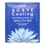 Гидрогелевая маска охлаждающая с экстрактом агавы   Agave Cooling Hydrogel Mask  Petitfee 32г