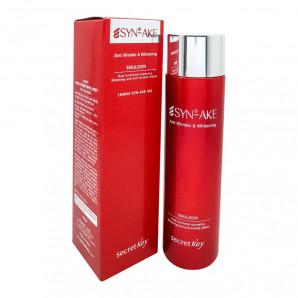 Антивозрастная пептидная эмульсия для лица   Syn-Ake Anti Wrinkle and Whitening Emulsion Secret Key 150мл