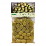 Оливки зеленые фаршированные Kurtes 250г