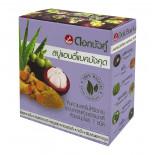 Мыло с Мангустином антибактериальное Twin Lotus 85г