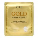 Гидрогелевая маска с золотым комплексом   Gold Hydrogel Mask Pack Petitfee 32г