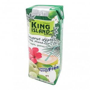 Кокосовая вода с яблоком, лаймом и гуавой (coconut water) King Island | Кинг Айлэнд 250мл