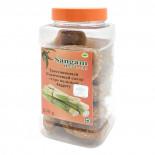 Тростниковый сахар коричневый Гур (cane sugar) цельный Sangam | Сангам 250г