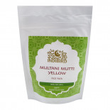 Маска для лица Мултани Мутти желтая (face mask) Indibird | Индибёрд 50г