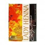 Краска для волос на основе хны темно-коричневая (hair dye) Lady Henna | Леди Хэнна 60г
