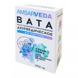 Аюрведическое мыло для лица и тела Вата (ayurvedic soap) Amsarveda   Амсарведа 100г