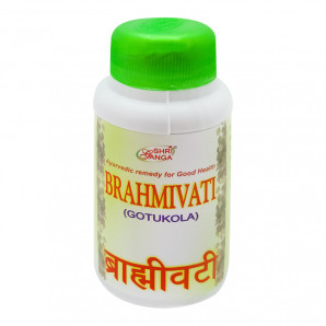 Брахми вати (Brahmi Vati GotuKola) от депрессии и головных болей Shri Ganga | Шри Ганга 200 таб