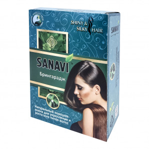Брингарадж (Bringaraj) порошок для волос Sanavy | Санави 100г