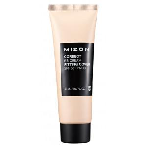 BB-крем с антивозрастным эффектом (Correct BB-cream fitting cover) Mizon   Мизон 50мл