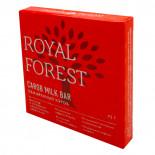Шоколад из кэроба обжаренного (carob chocolate) Royal Forest | Роял Форест 75г