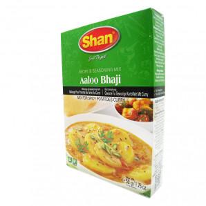 Приправа для блюд из картофеля Aloo Bhaji  (spices for potatoes) Shan   Шан 50г