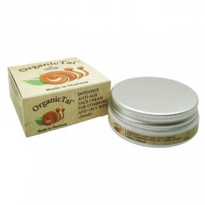Антивозрастной крем для жирной и комбинированной кожи с муцином улитки (anti age cream) Organic Tai | Органик Тай 50мл