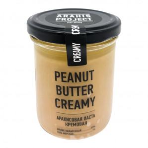Арахисовая паста кремовая (peanut butter) Arahis Project | Арахис Проджект 200г