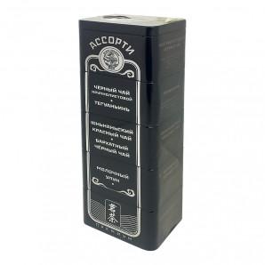 Китайский чай ассорти премиум (Chinese tea) Black Dragon | Блэк Драгон ЖБ 125г