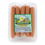 Вегетарианские сосиски Пикантные с сыром (vegetarian sausages) Высший Вкус 300г