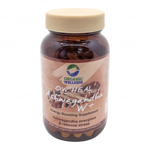 Ашвагандха В+ (Ashwagandha W+) против усталости Organic Wellness | Органик Вэлнесс 60 таб