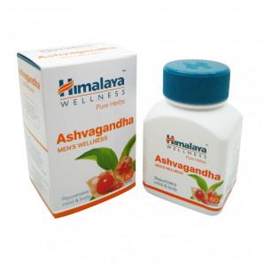 Ашвагандха (Ashwagandha) против стресса и тревоги Himalaya   Хималая 60 таб