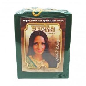 Краска для волос на основе хны горький шоколад (hair dye) Aasha | Ааша 100г