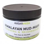 Грязевая маска для лица гималайская восстанавливающая (face mask) Amsarveda | Амсарведа 225г