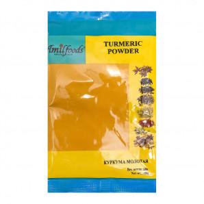 Куркума молотая (turmeric powder) Amil | Амил 100г