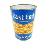 Нут консервированный белый (chickpeas) East End | Ист Энд 400г
