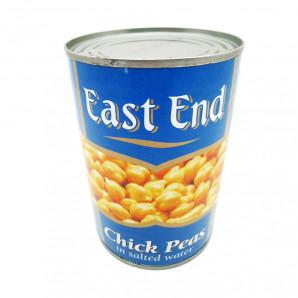 Нут консервированный белый (chickpeas) East End   Ист Энд 400г