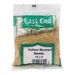 Горчица семена желтые (mustard seeds) East End   Ист Энд 100г