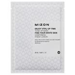 Тканевая маска для лица осветляющая (mask sheet) Mizon | Мизон 25мл