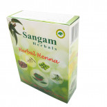 Натуральная хна для волос с добавками трав (henna) Sangam | Сангам 100г