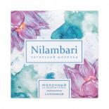 Веганский шоколад на овсяном молочке с клубникой (vegan chocolate) Nilambari | Ниламбари 65г