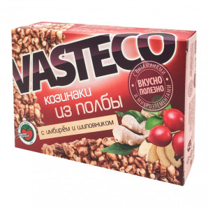 Козинаки из полбы с имбирем и шиповником ВАСТЭКО | VASTECO 40г