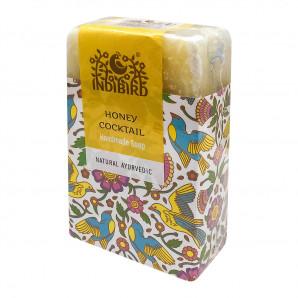 Аюрведическое мыло Медовый коктейль (ayurvedic soap) Indibird | Индибёрд 100г