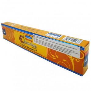 Благовоние Натуральный сандал (Natural Chandan incense sticks) Satya | Сатья 15г