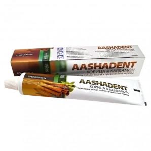 Зубная паста Корица и кардамон (toothpaste) Aasha   Ааша 100мл