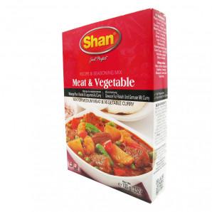 Приправа для мяса и овощей (seasoning for meet and vegetable) Shan | Шан 100г