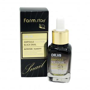 Ампульная сыворотка для лица с муцином черной улитки (serum) Farm Stay | Фарм Стэй 30мл