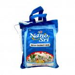 Непропаренный рис Басмати (basmati rice) в синем мешке Nano Sri | Нано Шри 1кг
