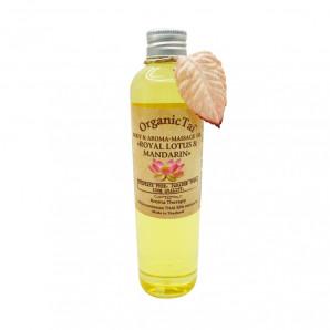 Масло для тела и аромамассажа Королевский лотос и мандарин (massage oil) Organic Tai | Органик Тай 260мл